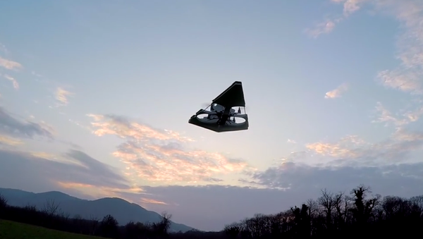 Here he comes with his latest creation, the Imperial Star Destroyer Drone. - Sputnik International