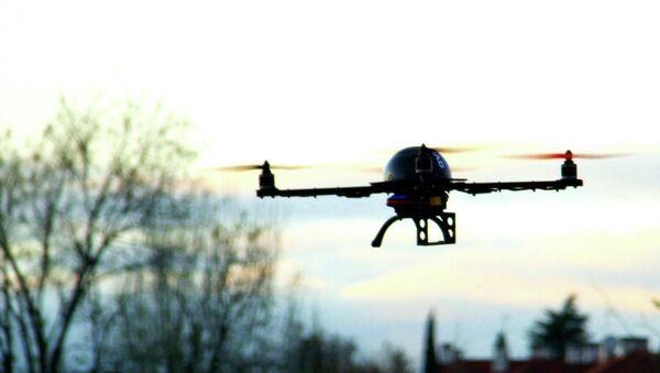 Drone in mid flight - Sputnik International