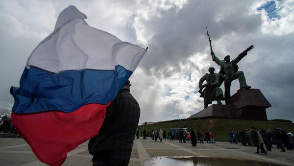 Crimean Spring anniversary in Crimea - Sputnik International