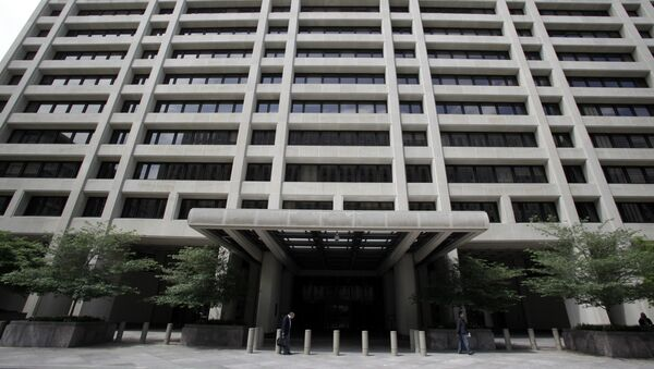 This may 15, 2011 file photo shows the International Monetary Fund (IMF) headquarters building in Washington, DC - Sputnik International