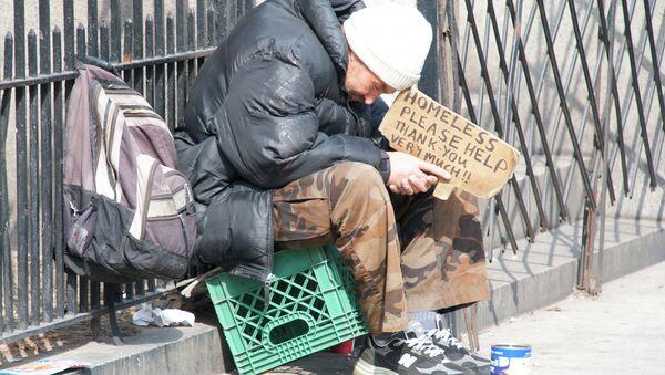 A homeless man - Sputnik International