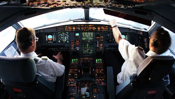 A340 Cockpit Miami - Sputnik International
