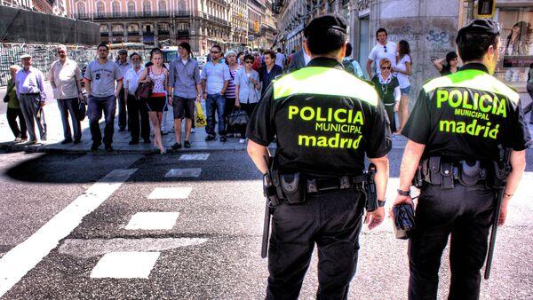 Madrid Policia Municipal - Sputnik International