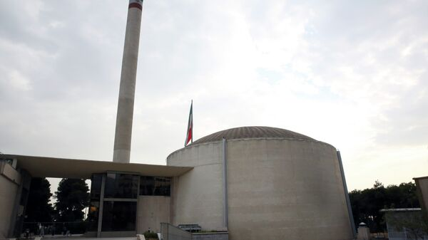 A nuclear research reactor at the headquarters of the Atomic Energy Organization of Iran, in Tehran - Sputnik International