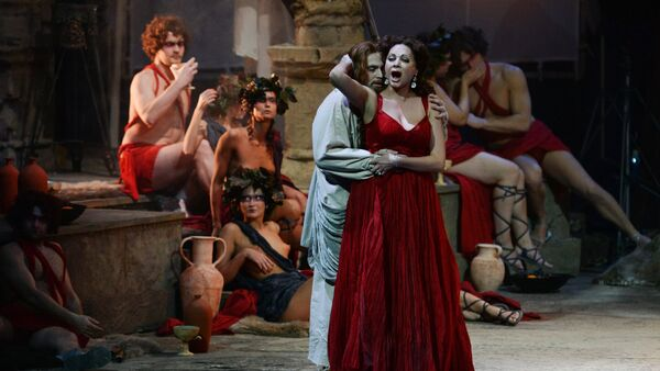 Premiere of the opera Tannhauser in Novosibirsk - Sputnik International