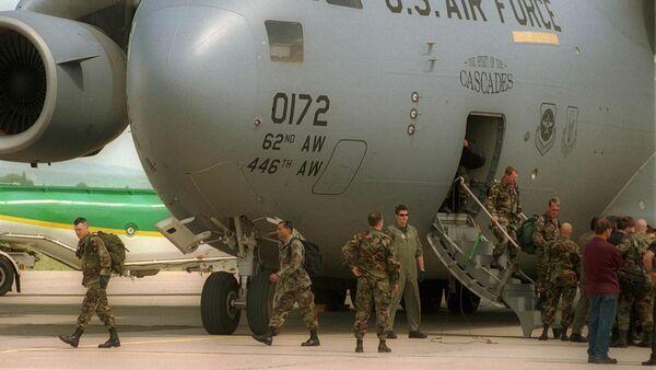 U.S. military instructors. File photo - Sputnik International