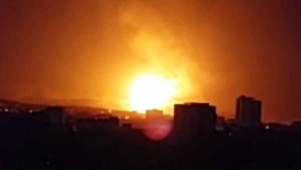 Bombing in Sanaa - Sputnik International