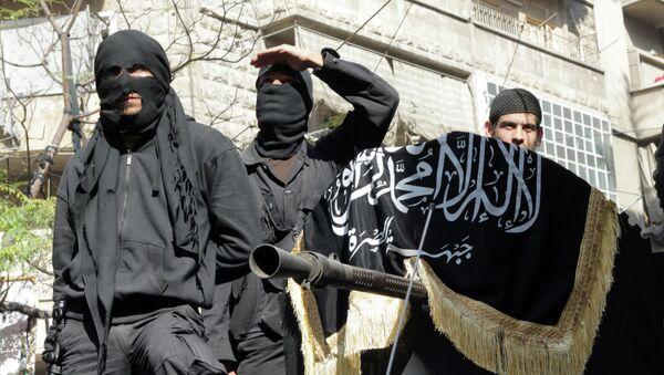 Members of jihadist group Al-Nusra Front - Sputnik International