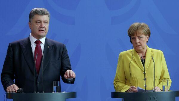Petro Poroshenko visits Germany - Sputnik International