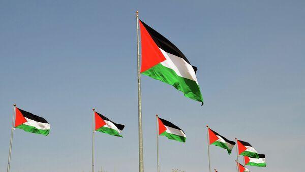 Palestinian flags - Sputnik International