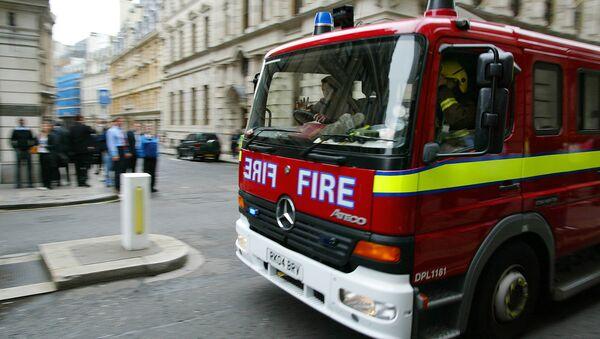 Fire engine, London - Sputnik International