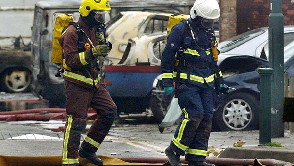 Firemen, London - Sputnik International
