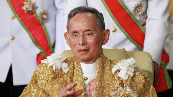 Thailand's King Bhumibol Adulyadej - Sputnik International