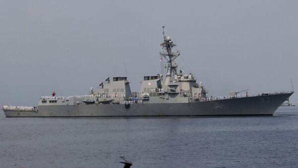USS Howard (DDG 83), an Arleigh Burke-class guided-missile destroyer - Sputnik International