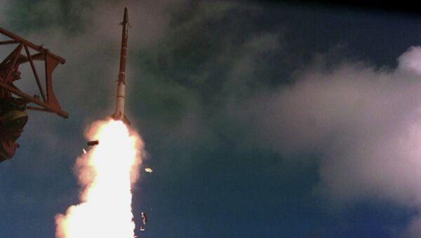 A test launch of David's Sling - Sputnik International