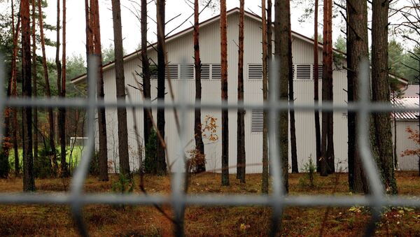 A building in the Antaviliai, Lithuania, 20 kilometers (12 miles) outside Vilnius which allegedly housed a CIA prison. - Sputnik International