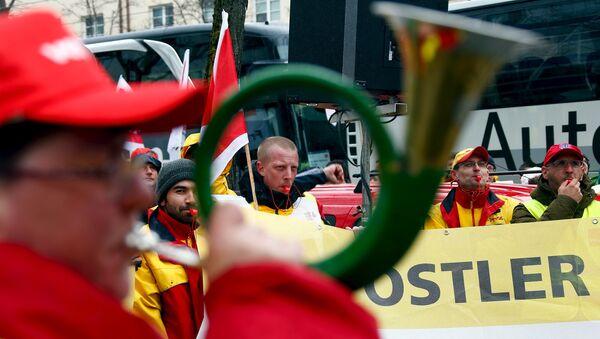 Protests in Germany - Sputnik International