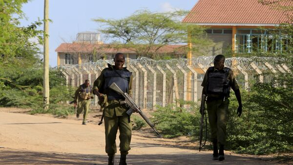 Kenya Defense Force soldiers - Sputnik International