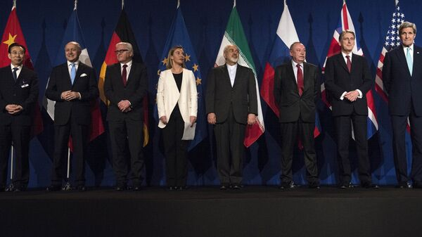 A Joint Comprehensive Plan of Action (JCPOA) was reached concerning Iran's nuclear program in Lausanne, Switzerland, June 2015. - Sputnik International
