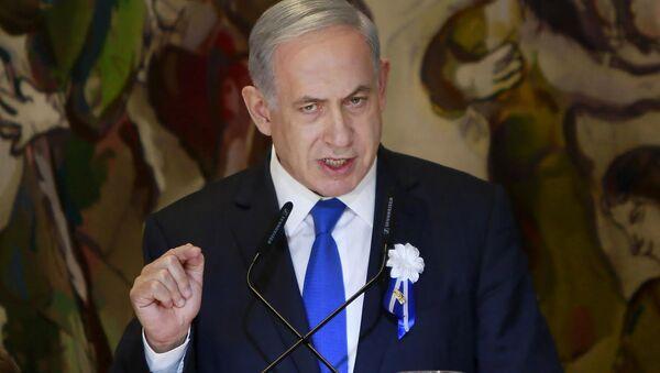 Israeli Prime Minister Benjamin Netanyahu voiced  strong opposition to the international agreement on Iran's nuclear development program. - Sputnik International