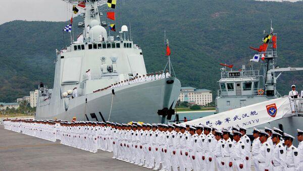 Chinese naval fleet - Sputnik International
