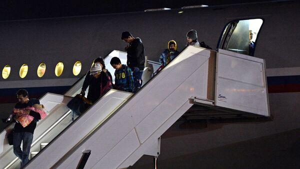 Самолет с россиянами из Йемена прибыл в Подмосковье - Sputnik International