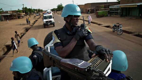 Mali UN peacekeeper police - Sputnik International