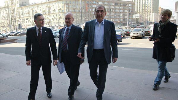 Syrian opposition delegates in Moscow - Sputnik International