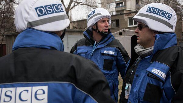 OSCE SMM in Donbass - Sputnik International
