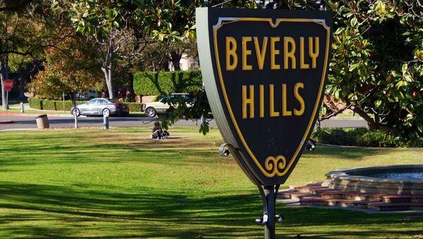 Beverly Hills Sign - Sputnik International