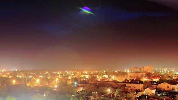 A UFO over a town - Sputnik International