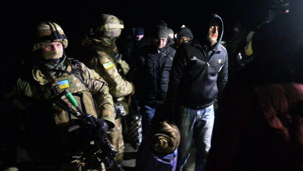 Prisoner exchange between Donetsk People's Republic, Luhansk People's Republic and Ukrainian Armed Forces - Sputnik International