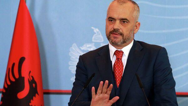 Albania's Prime Minister Edi Rama - Sputnik International