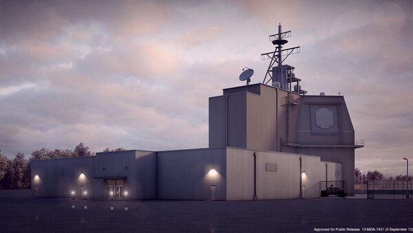 The US  Army Corps of Engineers Europe District is managing the construction of a $134 million Aegis Ashore Missile Defense Complex in Deveselu, Romania - Sputnik International