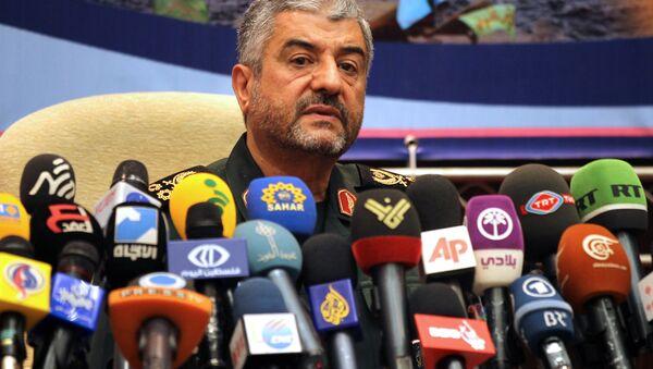 Iranian Revolutionary Guards commander Brigadier General Mohammad Ali Jafari - Sputnik International