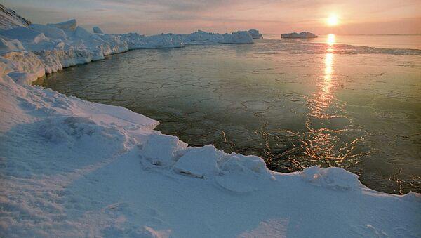 An Arctic dawn - Sputnik International