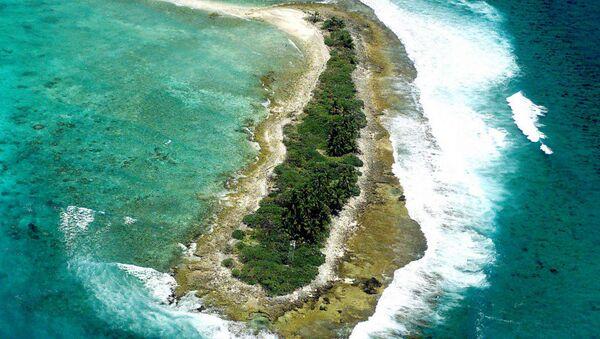 West Island, part of Diego Garcia group - Sputnik International