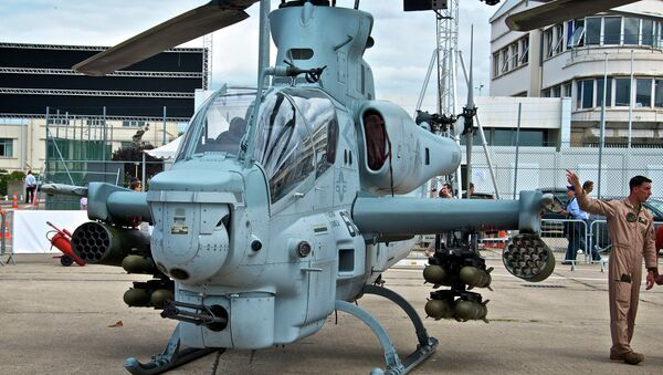 This proposed sale of helicopters and weapon systems will provide Pakistan with military capabilities in support of its counter-terrorism and counter-insurgency operations in South Asia. - Sputnik International