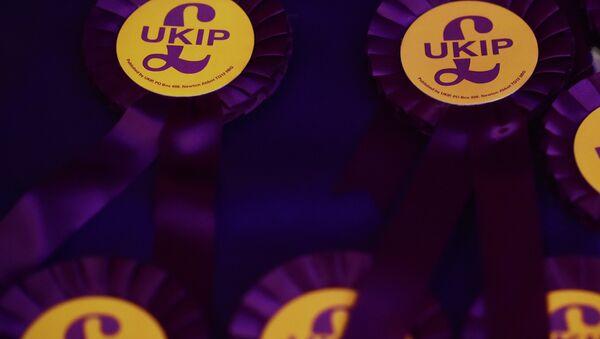 UK Independence Party (UKIP) rosettes - Sputnik International