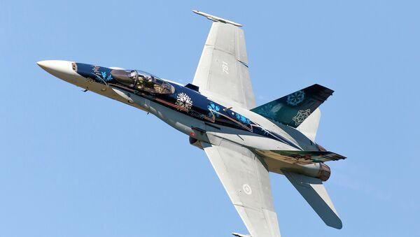 Royal Canadian Air Force ( RCAF) CF-18 - Sputnik International