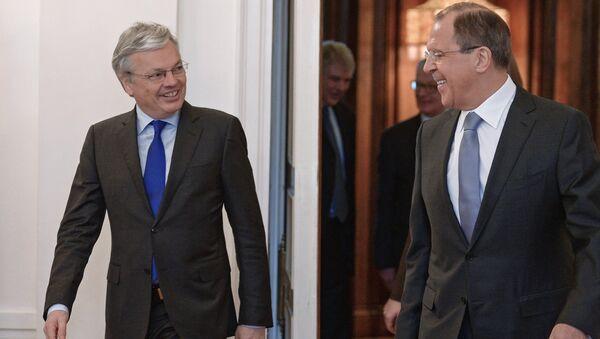 Russian, Belgian foreign ministers meet in Moscow - Sputnik International