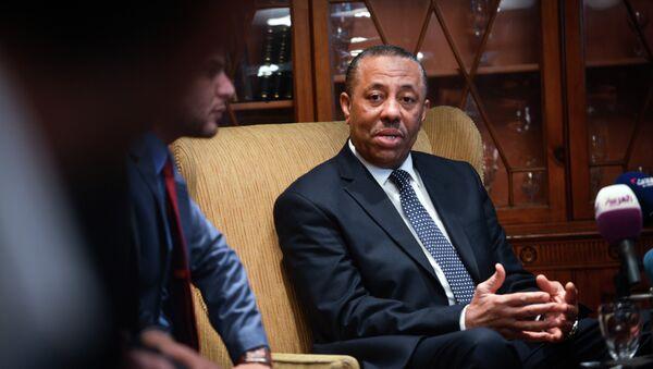 Libya's internationally recognised prime minister Abdullah al-Thani - Sputnik International