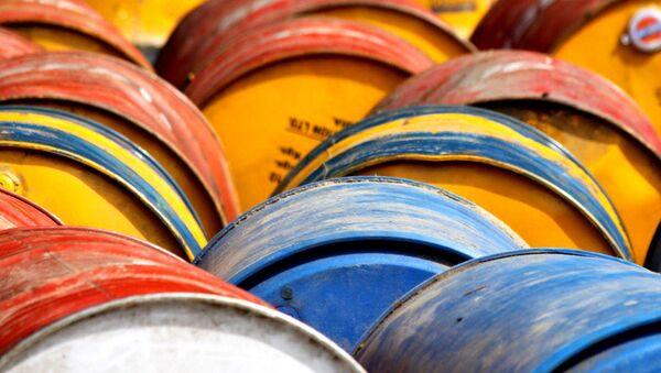 Barrels of oil - Sputnik International