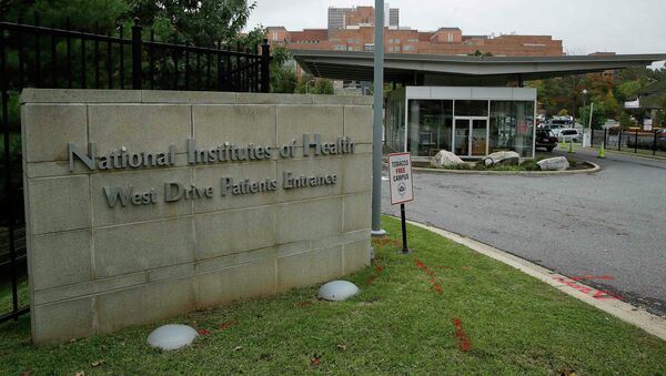 he patient's entrance at the National Institutes of Health is shown in Bethesda, Maryland - Sputnik International