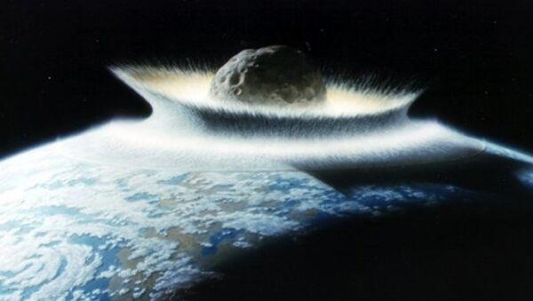 The asteroid that killed the dinosaurs. - Sputnik International