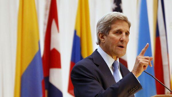 U.S. Secretary of State John Kerry - Sputnik International
