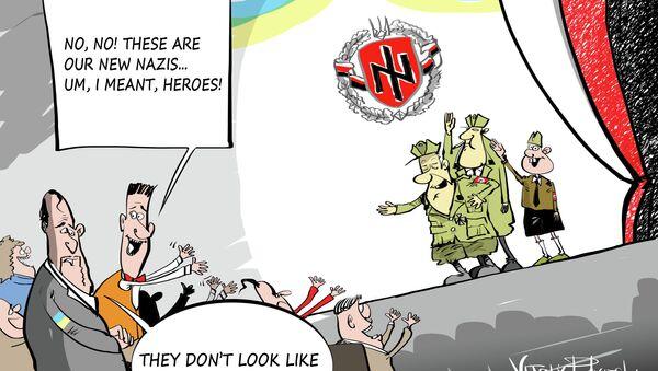 How To Spell 'Hero' in Ukraine: N, A, Z, I - Sputnik International