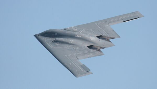 Northrop Grumman, recently awarded the contract for the US' next-generation long-range strike bomber, was up more than 4.4% at the close of the NYSE Monday. - Sputnik International