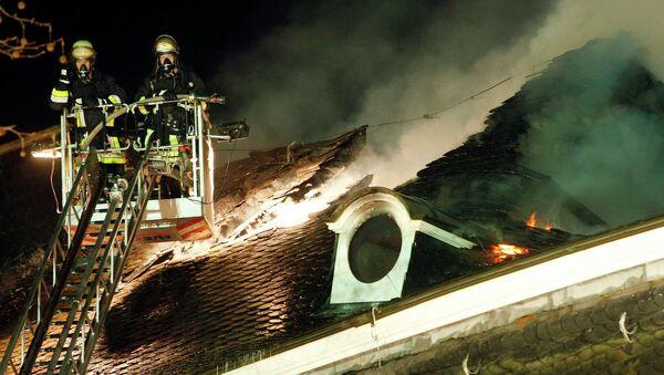 German firemen - Sputnik International
