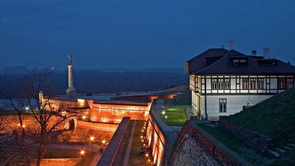 Kalemegdan Fortress at Night - Belgrade, Serbia - Sputnik International